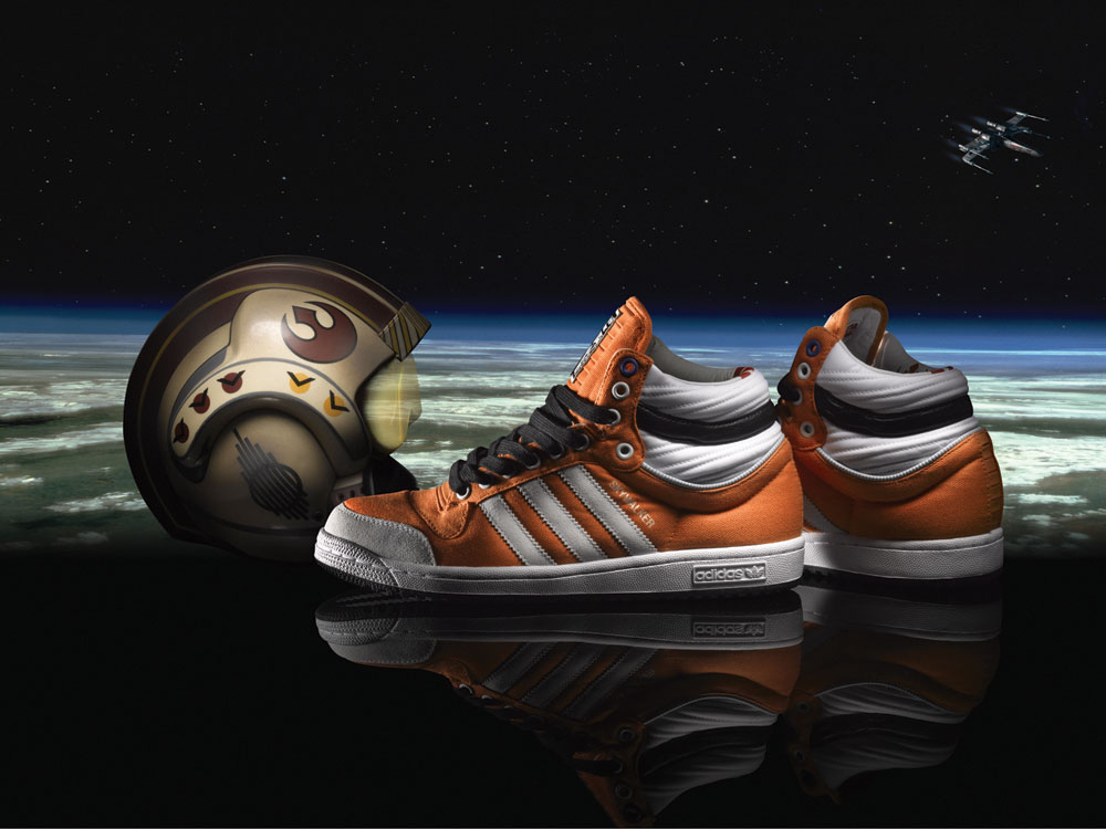 adidas star wars adidas brings the star wars saga to your feet (8 pictures) OOWQYIH
