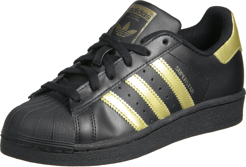 adidas superstar black adidas superstar foundation j w shoes black gold ACDQYED