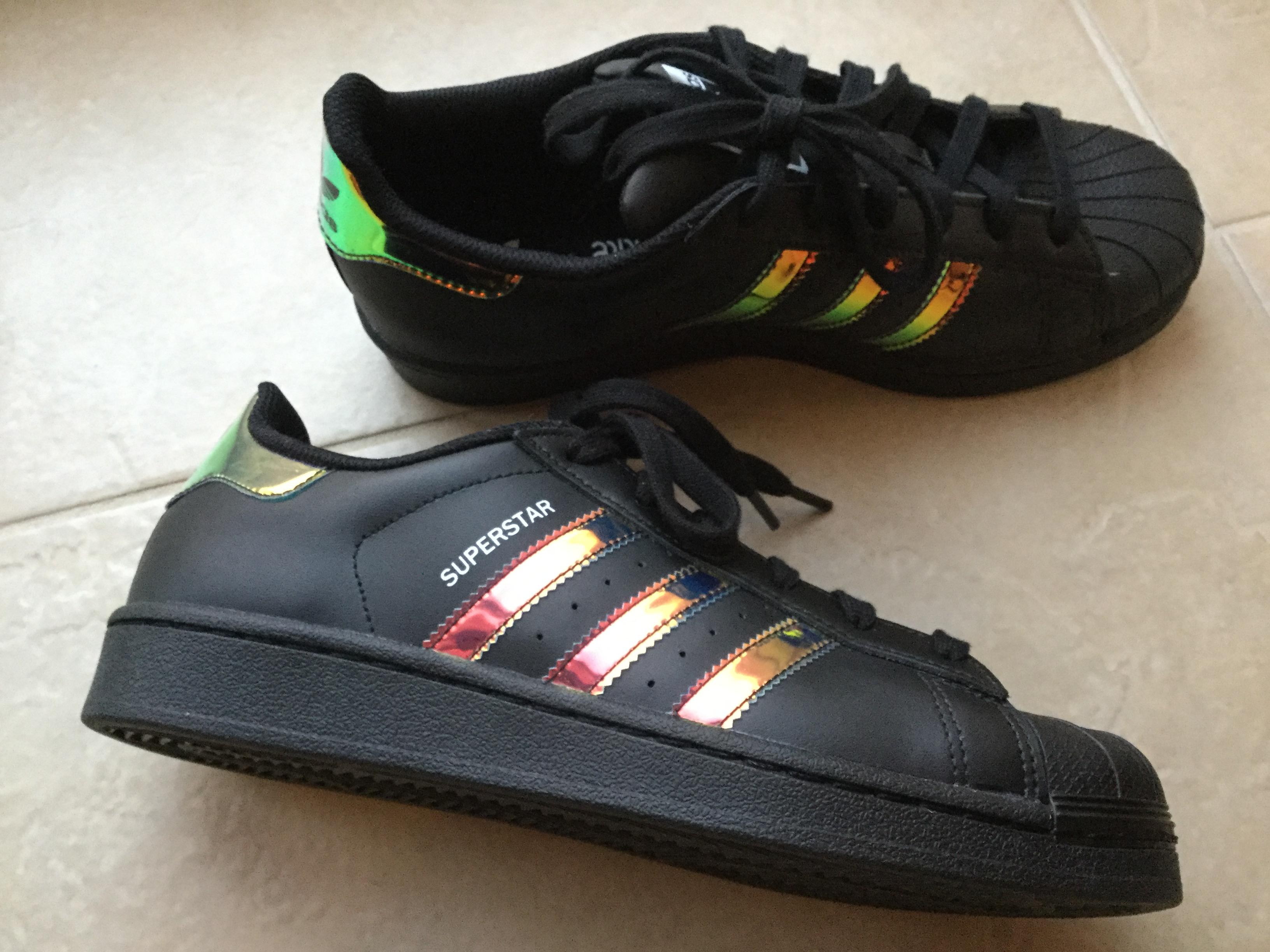 adidas superstar black adidas superstar holographic black - ❤️ WVBCNUW