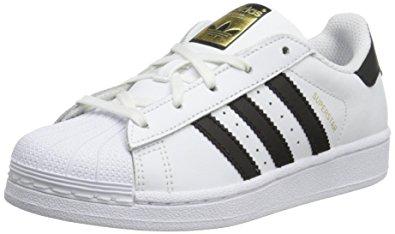 Adidas Superstar Kids adidas originals superstar i basketball fashion sneaker  (infant/toddler),white/black JGQSAMG