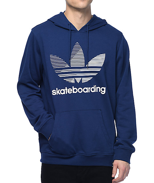 adidas sweater adidas clima 3.0 logo remix navy hoodie HJRDMBP