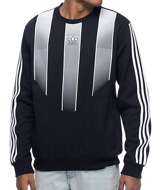 adidas sweater adidas eqt black crew neck sweatshirt LRQVOHO