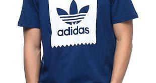 Adidas T Shirt adidas blackbird logo fill navy t-shirt MKJBPKT