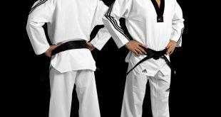 adidas taekwondo adidas adiflex taekwondo uniform with 3 stripe JVBQUSE