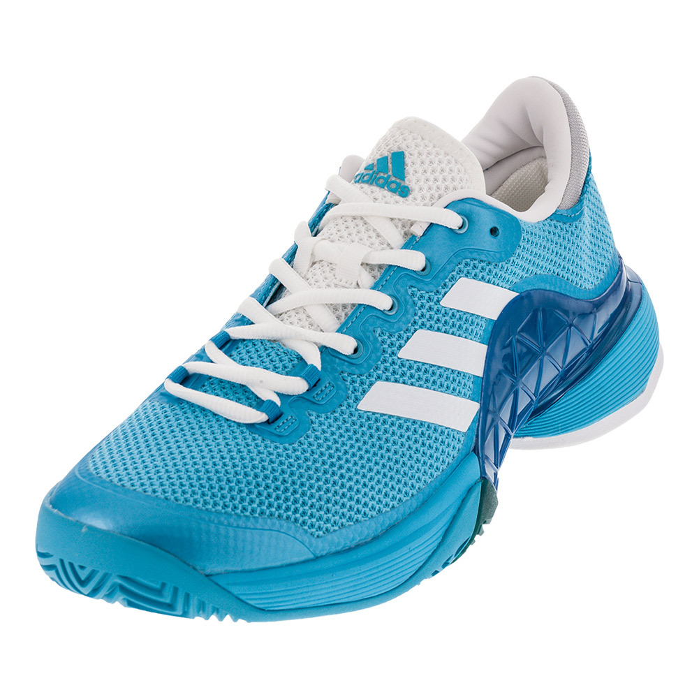 adidas tennis shoes adidas adidas menu0027s barricade 2017 tennis shoes samba blue and white FZKHSDO