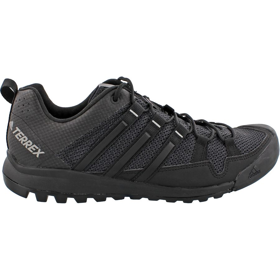 Adidas Terrex Solo adidas outdoor - terrex solo approach shoe - menu0027s - dark grey/black/ch ULXIPGA