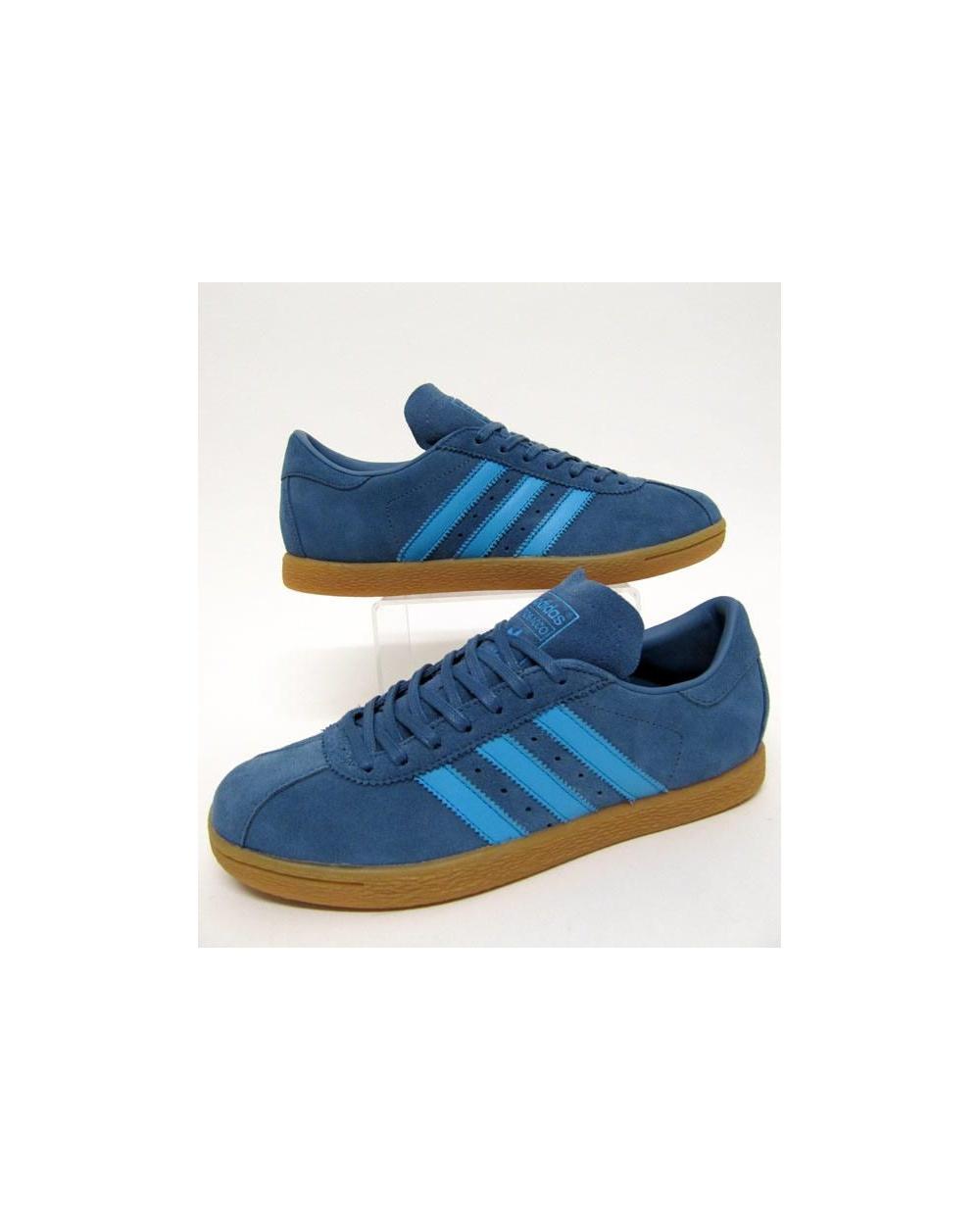 adidas tobacco trainers stonewash blue AZFCJUR