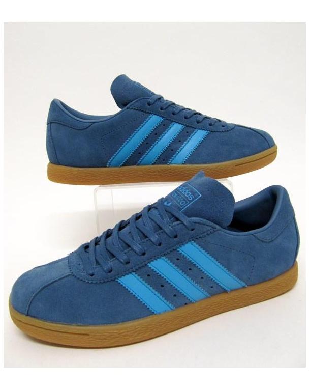 adidas tobacco trainers stonewash blue DXVIYUD
