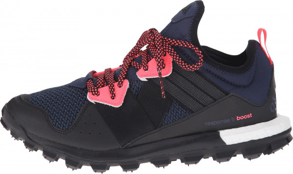 adidas trail running shoes ... adidas response boost trail woman midnight grey/black/flash red ... HGUVCEO