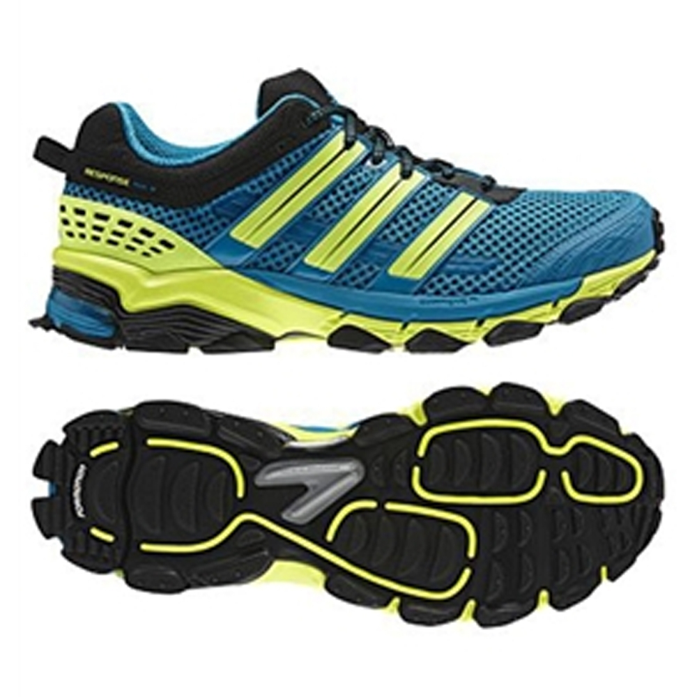 adidas trail running shoes adidas response trail running shoes (sharp blue/electricity) KGZQTPY