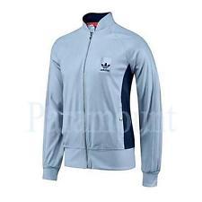 adidas vespa adidas originals vespa track top jacket - sky blue mens size EQSXIKU