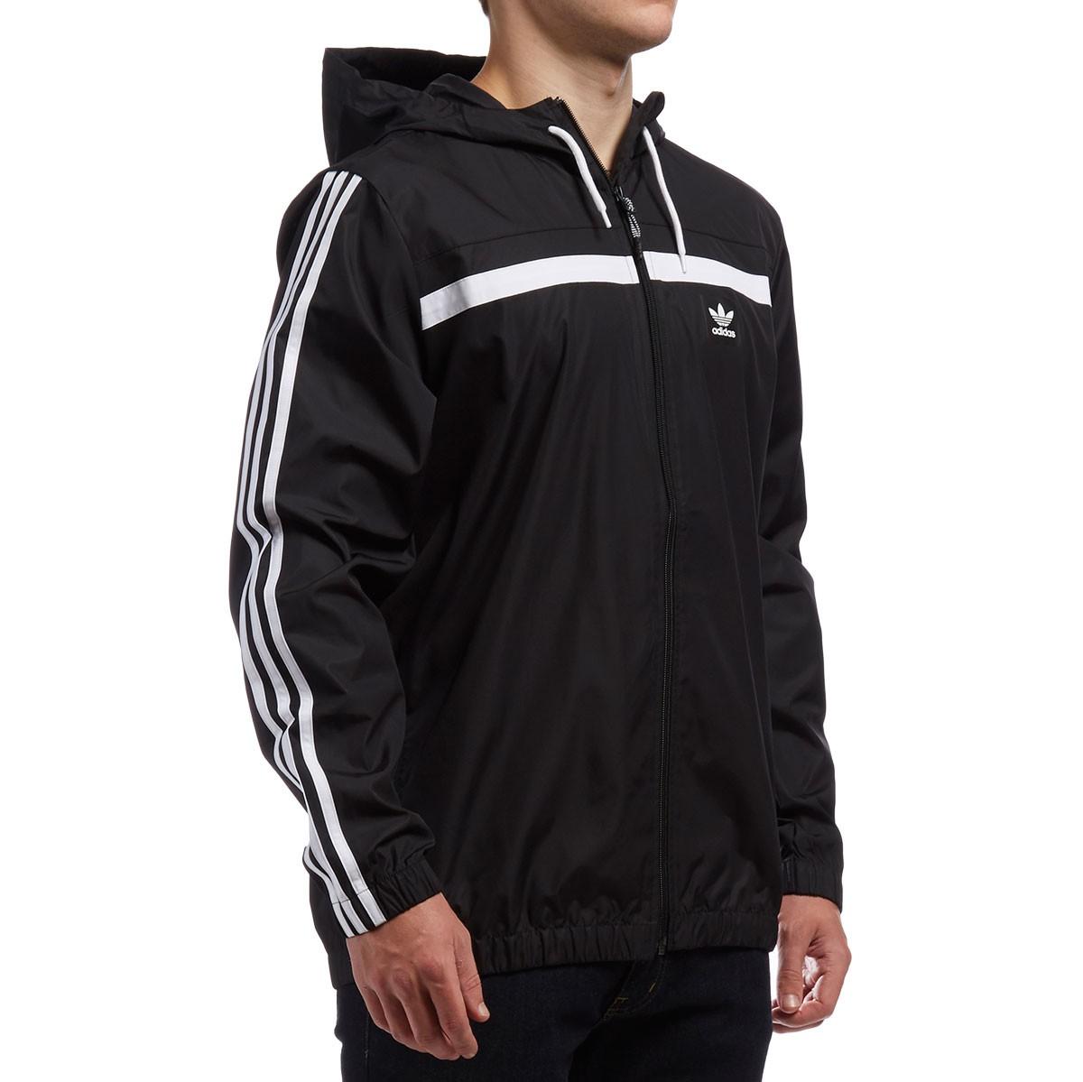 adidas windbreaker 2 jacket - black/white WOZEUWP