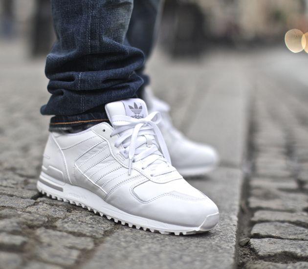 adidas zx 700 - white / aluminium KLCRBJE