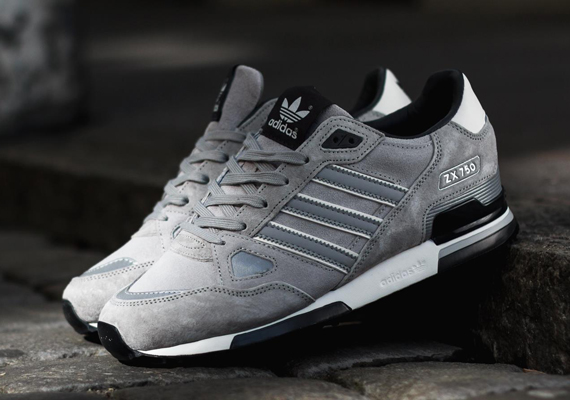 adidas zx 750 adidas originals zx 750 - silver / black HKNFYXM