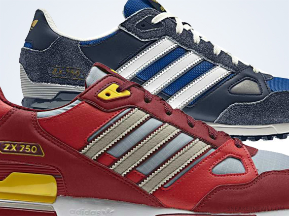 adidas zx 750 the adidas originals zx 750 is charging back hard, and now after the 1980s EITVHDL