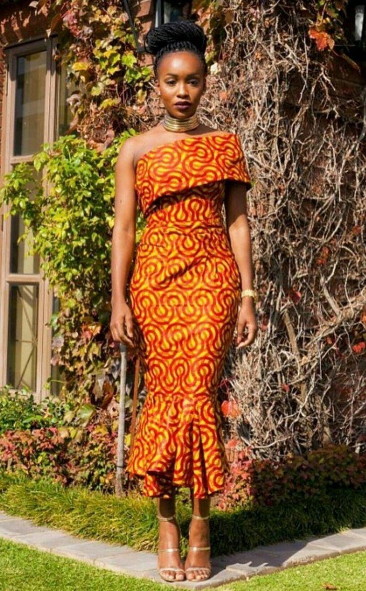 african style dresses ankara + jeans fashion TTJDXRN