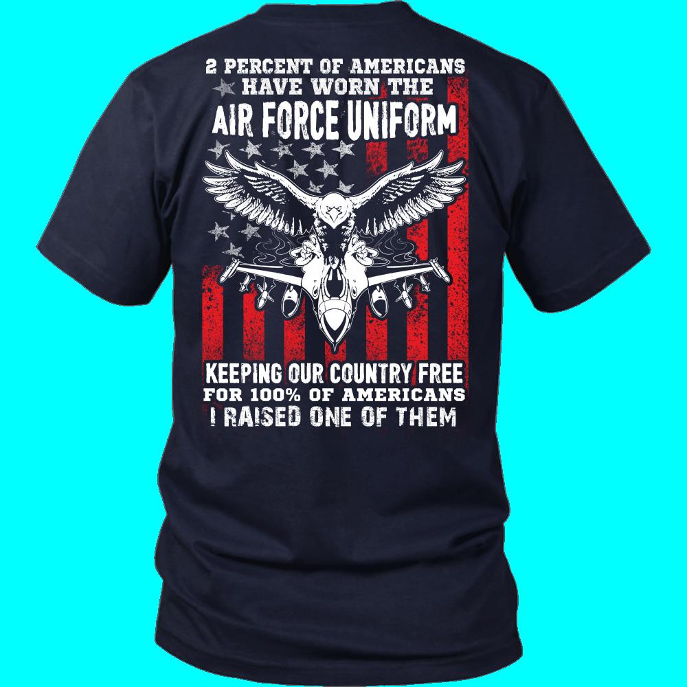 air force t shirts 2 percent of air force t-shirt TSEVIDC