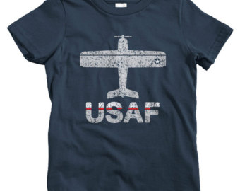 air force t shirts kids fly usaf t-shirt - baby, toddler, and youth sizes - u.s. JCVYVOU
