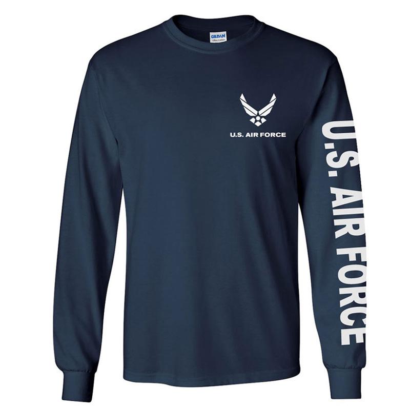 air force t shirts us air force long sleeve t-shirt OWRDDGL