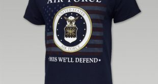 air force t shirts usaf this weu0027ll defend flag t (navy) - air force menu0027s t-shirts - air FVLGIDZ