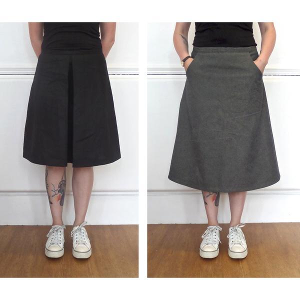 aline skirt the kelham - the ultimate a-line skirt pattern YCENFPD