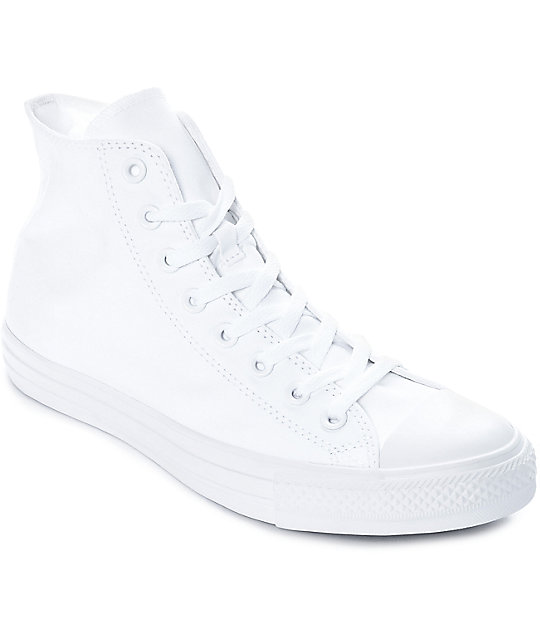 all white converse converse chuck taylor all star all white shoes FJDAOOC