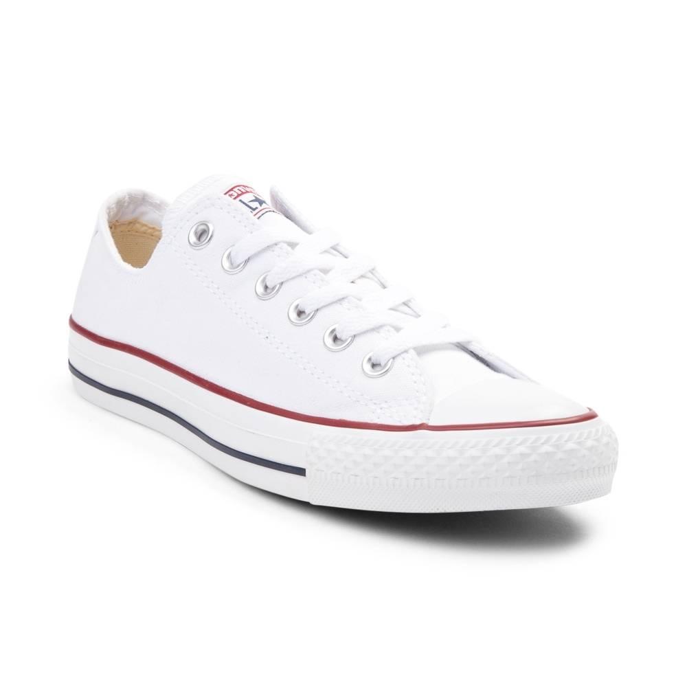 all white converse converse chuck taylor all star lo sneaker EMTCAGL