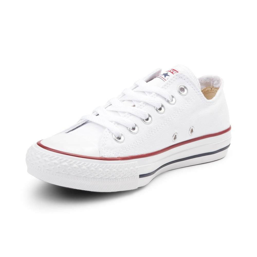all white converse converse chuck taylor all star lo sneaker PZVNCXJ