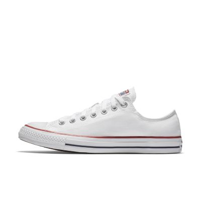 all white converse converse chuck taylor all star low top unisex shoe. nike.com SYIYPPJ