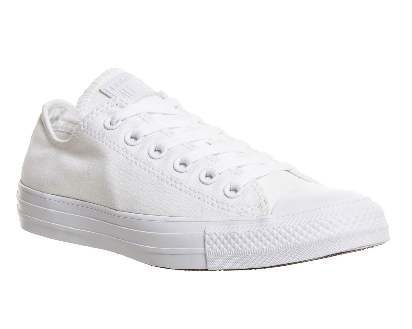 all white converse double tap to zoom into the image. converse, all star low, white ... IRPYFDO