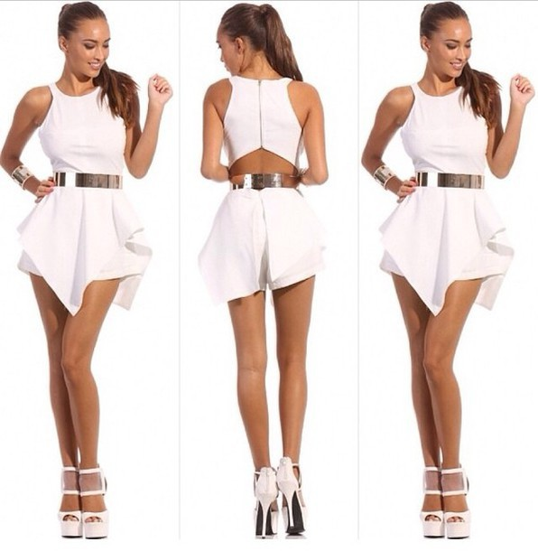 all white romper compare prices on women white jumpsuit- online shopping/buy low . CSNFOAL