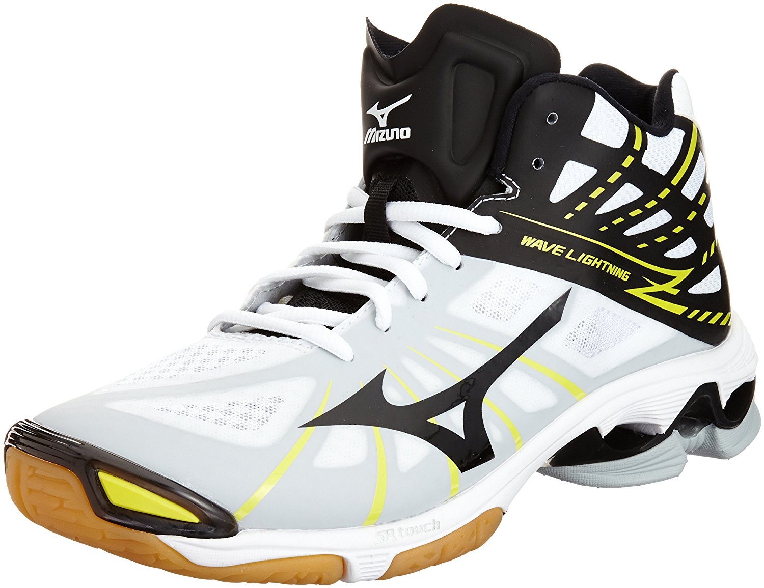 amazon.com | mizuno volleyball shoes wave lightning z mid | volleyball BIFPECQ