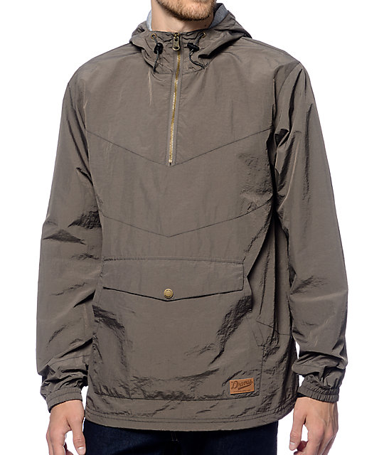 anorak jackets dravus sprawl charcoal anorak jacket RCUYPZI