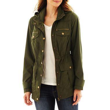 anorak jackets st. johnu0027s bay® packable anorak jacket - jcpenney KMJCUIU