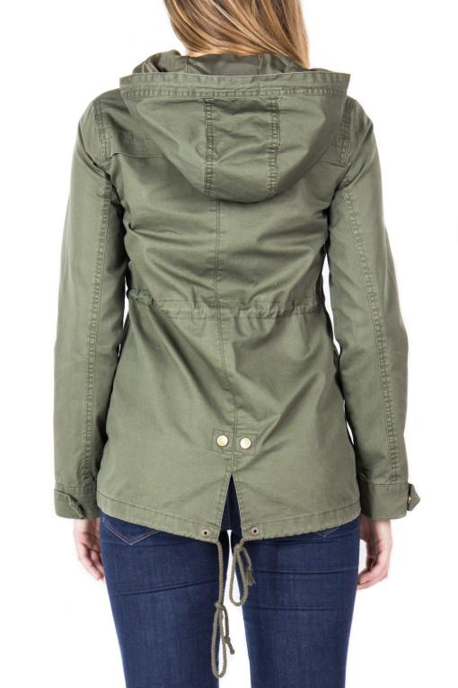 anorak jackets twill anorak jacket modeled OJUTJVC