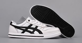 asics aaron low menu0027s/womenu0027s sneakers white/black PLGMIJT