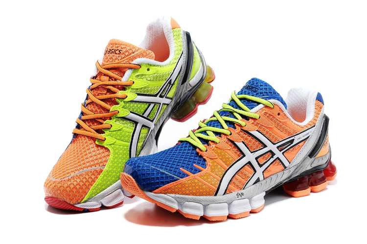 asics kinsei 4 asics gel kinsei 4 men orange blue green white,asics kayano 22,asics kayano OYSRELV