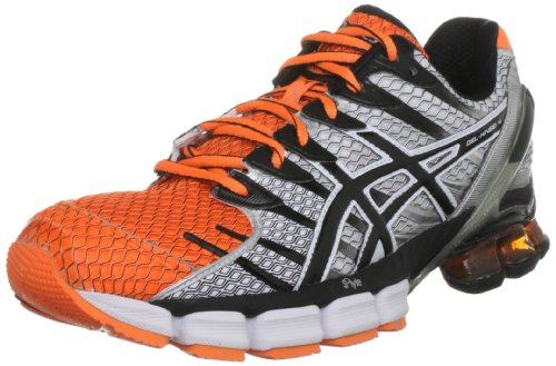 asics kinsei 4 asics menu0027s gel kinsei 4 trainer, neon orange/black/white, 15 uk:  amazon.co.uk: shoes u0026 DOYYLQM