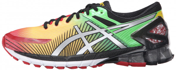 asics kinsei ... asics gel kinsei 6 men true red/silver/black ... HBLBWOF