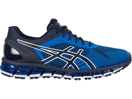 asics shoes gel-quantum 360 knit | men | peacoat/directoire blue/white | asics us LRNIDZA