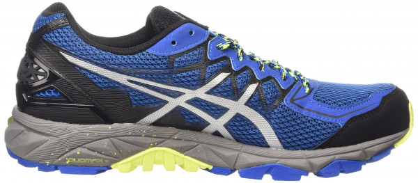 asics trabuco asics gel fujitrabuco 4 men bleu (snorkel blue/silver/flash yellow 4293) ... KIMDZTM