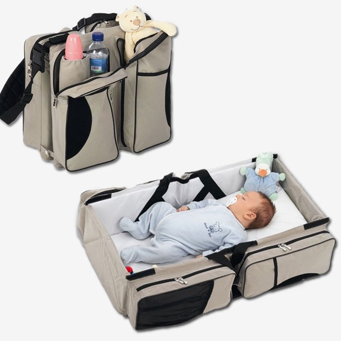 baby bag baby travel - a bag that turns into a baby couch | http:// OKBSJZN