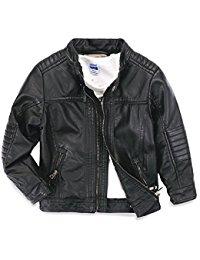 baby boy coats ljyh boys leather jacket new spring childrenu0027s collar motorcycle faux  leather zipper coat TPZNYXZ
