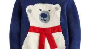baby christmas jumper navy babybear baby boysu0027 knitted christmas jumper | joules uk | toddler  clothes VMHVDGD