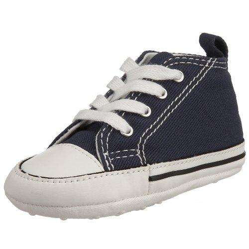 baby converse shoes amazon.com | converse baby-boysu0027 chuck taylor first star hi canvas sneakers  | sneakers SOBBCKZ