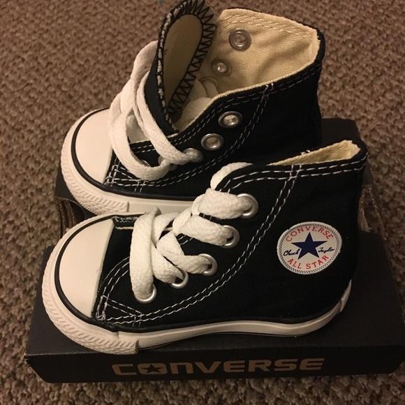baby converse shoes converse shoes - converse hightop baby size 2 LXEANFT