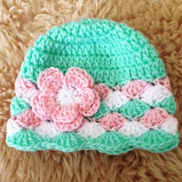 baby crochet hats 25 easy crochet hats with free tutorials OQZWACY