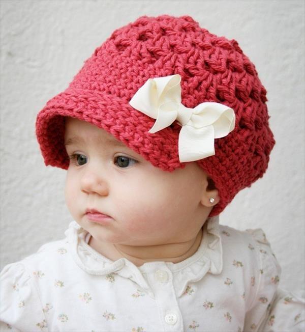 baby girl hats 10 diy cute kids crochet hat patterns HAGEOLO