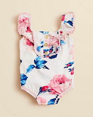 baby girl swimsuits juicy couture infant girlsu0027 floral swimsuit - sizes 3-24 months |  bloomingdaleu0027s FYPXGFF