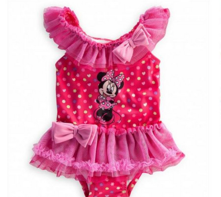 baby girl swimsuits minnie mouse swimsuit WDRLKFA